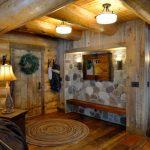 Rustic Mud Wood Interior Wall Lamps Logs Door Carpet Racks Ceiling Lights Table Lamp