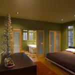 simple glass door for bedroom sliding doors windows bed wood floor carpet table bathtub bathroom painting railing
