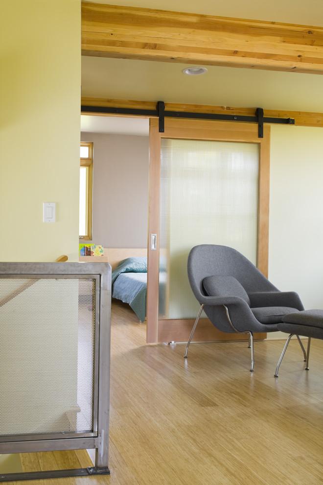 simple glass door for bedroom wood floor chair bed window sliding barn door ceiling lamp with wood frames
