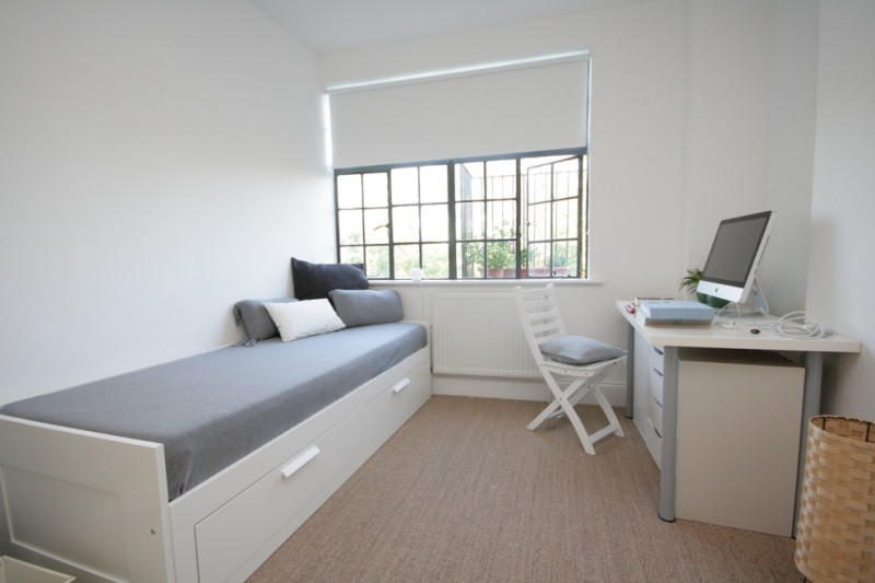 students furniture for studying bed pillows window basket desk computer chair contemporary room