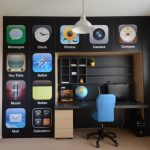 students furniture for studying modern chair desk storage iphone icons window pot flower shelves globe computer hanging lamp