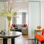 tall flower for glass vase sliding curtain apartment round entryway table orange chair round couch different tales sliding door