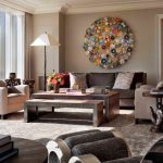 Wall Hangings For Living Room Chairs Pillows Big Window Curtain Contemporary Style Table Flowers