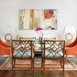 wall hangings for living room simple & artistic carpet hardwood floor chairs painting flowers tables lamps