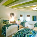 white beddings designs with coloured sheets four beds beach style bedroom ceiling fan windows greens