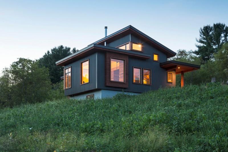 window design for small house grass windows modern home exterior pillar lamp