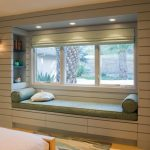 window design for small house wall lamps carpet lights bed modern room bench pillows shelves