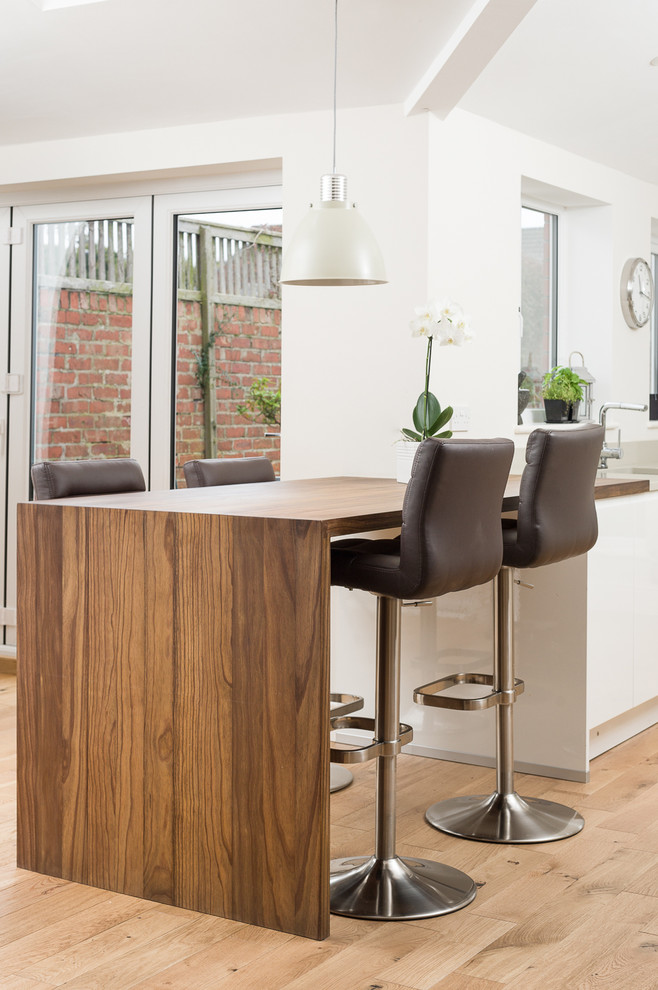 Long Wood Kitchen Table
