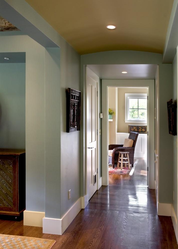 baseboard trim style hardwood floor chair window carpet door ceiling lights farmhouse hall