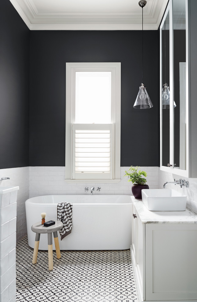 bathroom color trends hanging lamp chair vanities drawers standing shelf single bowl sink faucets mirror shower contemporary design