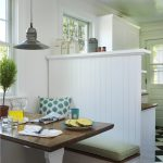 Booth Style Kitchen Table Beach Style Dining Room Kitchen Duralee Textiles Aluminum Contemporary Cord Hung Pendant With Frosted Glass