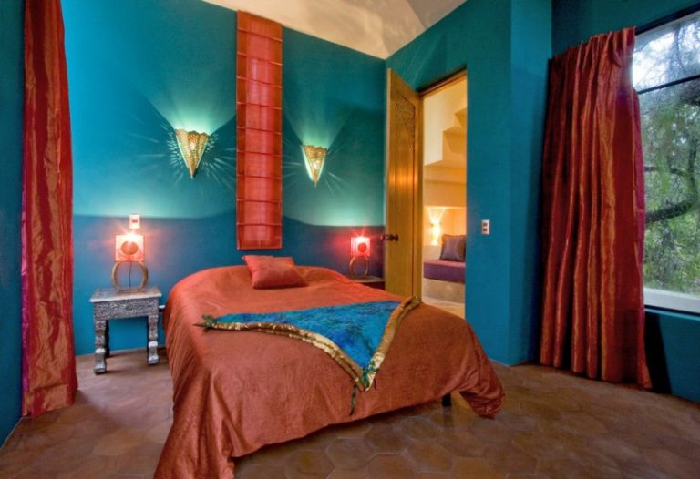 Colors To Paint Your Bedroom Blue Walls Window Curtains Bed Pillow Bedside Tables Cool Lamps Door