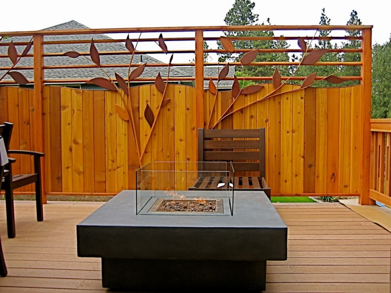 decorative privacy fence gallina deck and privacy fence bright yellow wood fence flower patterned fence