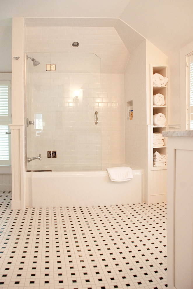glass doors for bathtub shelves towels wall storage traditional style bathroom