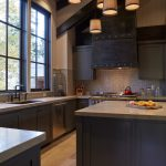 Good Colors For Kitchens Shaker Cabinets Marble Countertops Undermount Sink Island Hardwood Floors Pendants Mosaic Tiles Backsplash Rustic Design