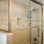 Grab Bar Shower Valve Trim Waterhill Diverter Tub Spout Bath Glass Door Walk In Shower Tub Combo