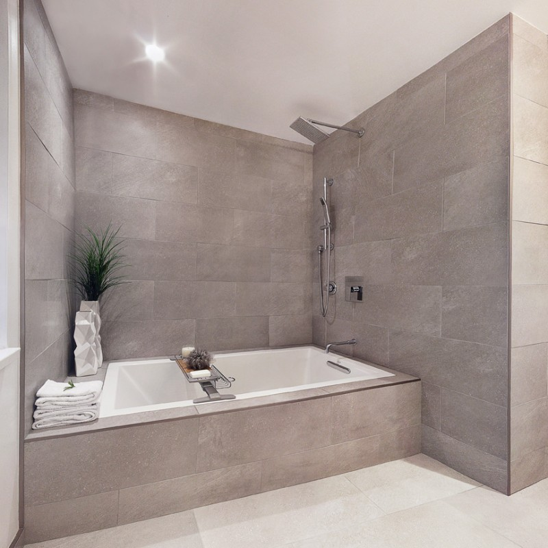 gray wall indent gray shower tiles soaking tub with shower combo drop in tub kohler laminar tub