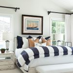 hudson park bedding bench table lamps windows pillows painting curtain beach style bedroom