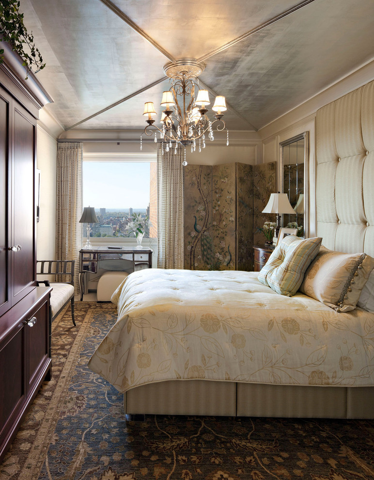 hudson park bedding chandelier carpet pillows closet bench room divider window drawer table tufted headboard traditional style
