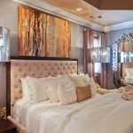 Hudson Park Bedding Chandeliers Curtains Window Contemporary Style Ceiling Light Pillows Mirror