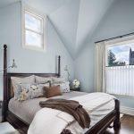 hudson park bedding hardwood floor carpets window lamps pillows flowers curtain transitional bedroom