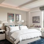 hudson park bedding wall lamps carpet wall decoration shelves drawers storage transitional design