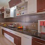 Indian Kitchen Kitchen Cabinet Layout Tool Modular Storage Unique Kitchen Cabinet Small Sink Modern Floor