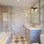 jacuzzi tub shower combo window wall storage beautiful walls toilet vanity mirror modern lamp ceiling light bathtub traditional bathroom