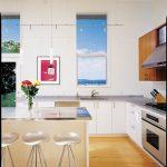 Kitchen Counter Height Stools Appliance Lift Counter Stool Slanted Ceiling Track Lighting Aluminum Backsplash