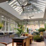 Kitchen Greenhouse Window Gloss White Modern Ceiling Fan Fulton Single Light Chandelier Natural Areca Palm