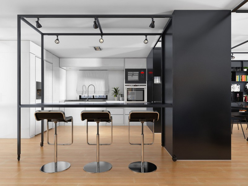 kitchen remodel nyc tall dining chairs faucet lamps beautiful floor modern style room