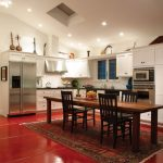 Kitchen Table Sets Ikea Cabinet Red Floor Carpet Books Chairs Fridge Wall Cabinet Mediterranean Kitchen