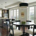kitchen table sets ikea hardwood floor faucet windows chairs hanging lamps wall decor doors contemporary kitchen