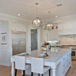 Lighting Pendant Lights For Kitchens Orbit Three Light Pendant White Granite White Cabinet And Storage