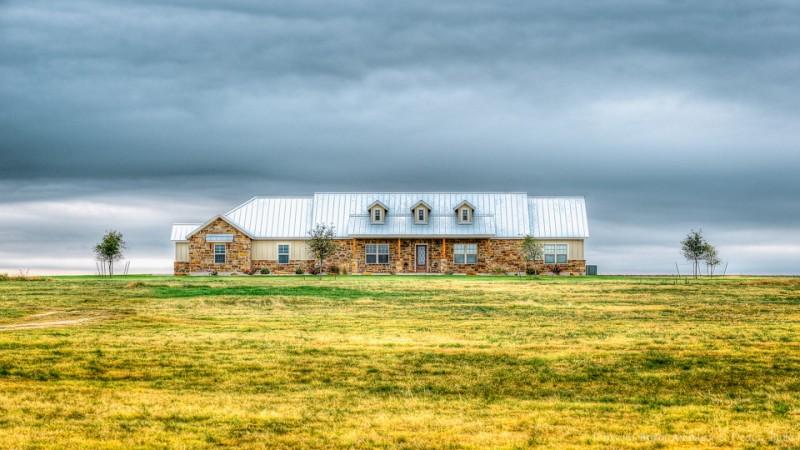luxury ranch house plans metal roof brick walls windows door pillars craftsman design