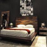 Modern King Size Bedroom Sets Contemporary Platform Beds Devon King Platform Bed Sleep Air Down Memory Foam Pillow