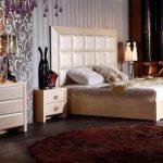 Modern King Size Bedroom Sets Queen California King Eastern King Nightstand Dresser Mirror Red Rug
