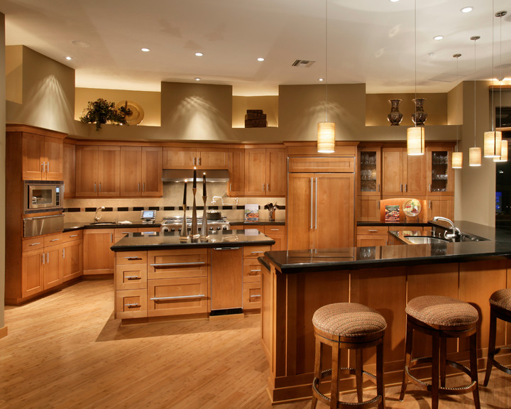 kitchen design pictures cherry cabinets fancy and cherry kitchen cabinets decohoms 430