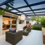 Polycarbonate Roof Panels Chair Organic Chair Outdoor Linear Fireplace Contemporary Patio