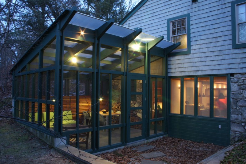 polycarbonate roof panels clear roof greenhouse enclosed patio pergola with roof blue sunroom paint colors