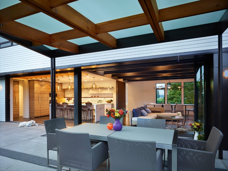 polycarbonate roof panels dune dining chair with taupe cushion smoke agora glass pendant lamps satine stools