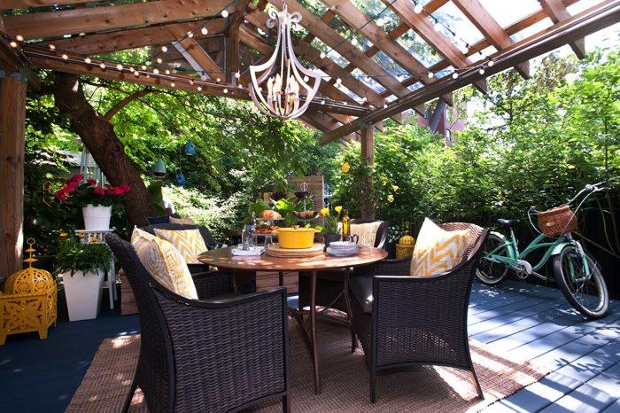 polycarbonate roof panels traditional patio lumbar pillow gazebo blue flooring rattan cahirs beautiful chandelier