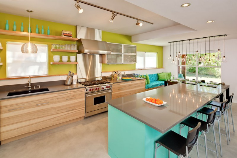 popular paint colors for kitchen tosca green contemporary kitchen wall wangehood ladylux faucetblanco kitchen sinks custom pecan cabinet firefly pendant light