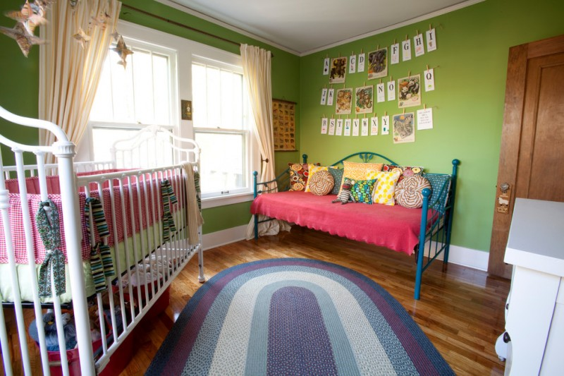 pottery barn daybed cover carpet beautiful floor pillows windows curtains eclectic nursery room