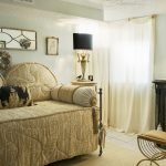 Pottery Barn Daybed Cover Chair Pillow Curtain Window Table Lamp Mediterranean Bedroom