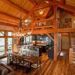 Rustic Dining Room Rustic Chandelier Open Concept Small A Frame Cabin Plans Wood Soft Couch Bar And Bar Stools