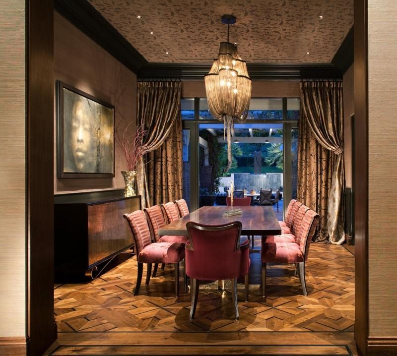 sliding glass door drapes terzani atlantischandelier latte roller shade soft pink furniture glamour room decorations