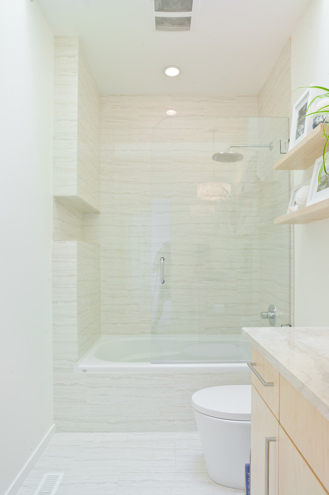 small bathtubs with shower shelves ceiling lights glass door contemporary style bathroom
