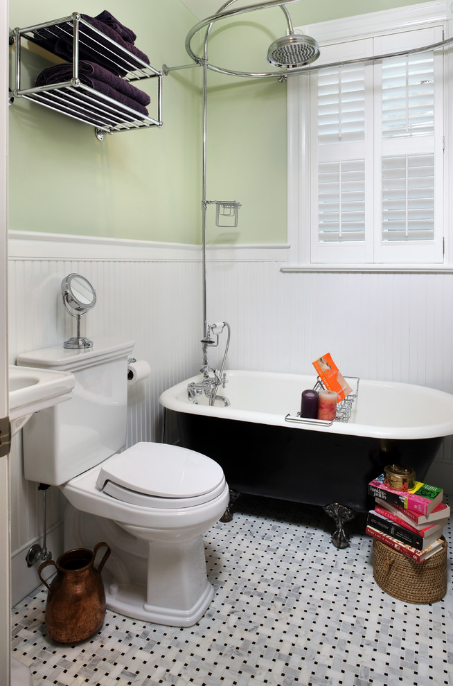 small bathtubs with shower toilet books shelves window towels traditional style bathroom