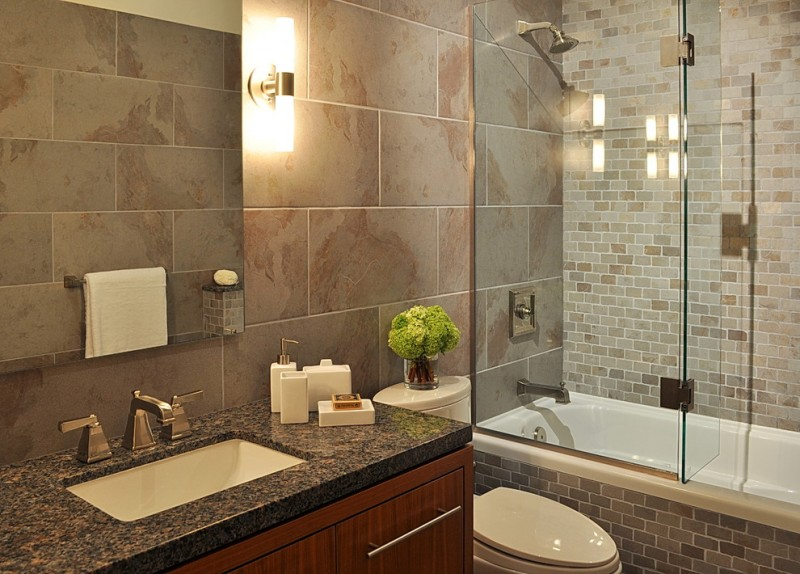 small bathtubs with shower toilet towel rack faucet modern lamp glass door contemporary bathroom